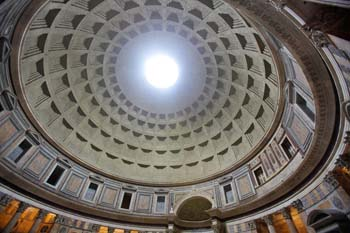 <b>Italy, Rome</b>, Dome of the Pantheon