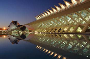 <b>Spain, Valencia</b>, The city of Arts and Sciences